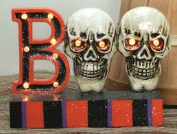 halloween signs u0026 banners u0026 wall art one holiday lane