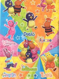 backyardigan stickers kids nicjr tv show stickers pablo