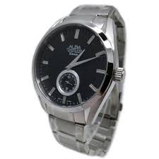 Jam Tangan Alba Pria jual rantai jam tangan alba pria hitam harga menarik