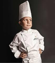 enfant cuisine veste de cuisine enfant malaga junior blanc clément design taille 7