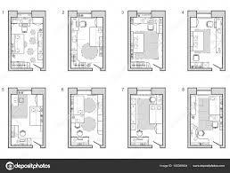 plan d une chambre plan de meubles de chambre d enfant plan d étage symbole comme