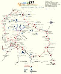 Himilayas Map A Better Annapurna Circuit Map Nepal Trip Pinterest Nepal