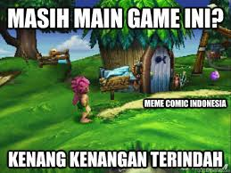 Meme Spongebob Indonesia - masih main game ini kenang kenangan terindah meme comic indonesia