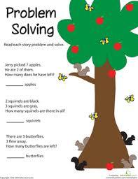 problem solving adding apples worksheet education com
