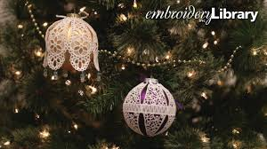 freestanding lace ornament covers