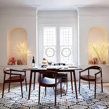 west elm mid century dining table mid century dining room pantry versatile