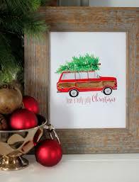 christmas jeep card free christmas printable