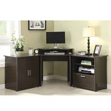 Computer Desk With File Cabinet Marvelous Corner Desk With File Cabinet 4 Corner Computer Desk For