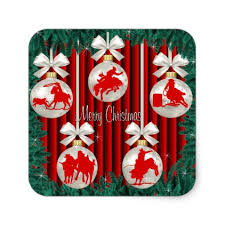 rodeo ornaments on stickers 2 western style diy