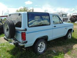 white bronco car hemmings find of the day u2013 1986 ford bronco ii xlt ford bronco