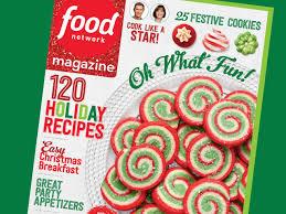 food network magazine december 2016 recipe index food network
