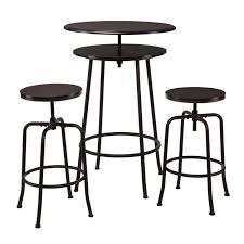 amazon com holly u0026 martin kalomar 3pc adjustable pub table