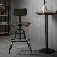 meuble de bar cuisine meubles de style industriel hauteur réglable tabouret de bar