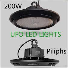 best high bay shop lights meanwell driver 100w 200w ufo led high bay light floodlight