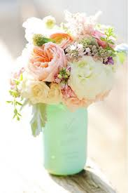 Mason Jars Wedding Centerpieces by Diy Mint Mason Jars Wedding Centerpiece Weddinginclude Wedding