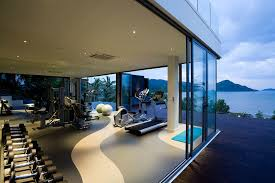celebrity home gyms how to build a high tech gym at home mansion global