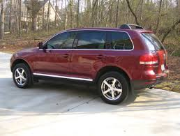 dark green volkswagen llumar at35gn green hued window tint club touareg forums
