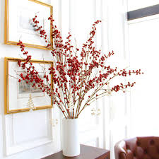 luxury artificial berries bouquet amaranthine blooms