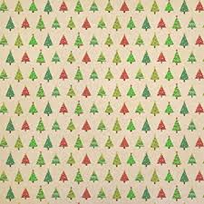 modern wrapping paper modern christmas trees kraft present gift wrap