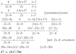 br che umformen umformen eines bruches in einer bruchgleichung x 1 3 x x