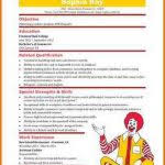 Mcdonalds Resume Skills Mcdonalds Resume Cashier Resume Skills Png Sop Format Sample