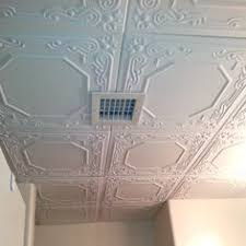 Installing Ceiling Tiles by Romanesque Wreath Styrofoam Ceiling Tile 20