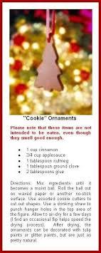 gingerbread non edible cinnamon ornaments pinteres
