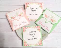 tea bag favors tea bag favors etsy