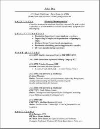 Cover Letter Biotech Biotech Pharmaceutical Resume Occupational Exles Sles Free