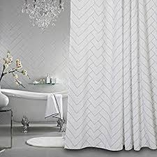 Spa Shower Curtain Park Spa Waffle Shower Curtain With 3m