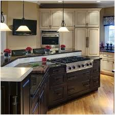 two level kitchen island designs small kitchen island with cooktop inviting two level kitchen