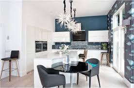cuisine bleu petrole design interieur quelle couleur de mur pour une cuisine bleu