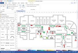 Simple Floor Plan Software Simple Emergency Plan Software Make Great Looking Emergency Plan