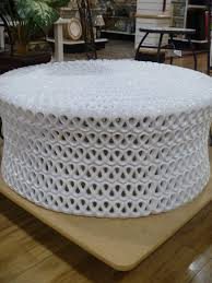 round fabric ottoman coffee table in ikea easy lack table tikspor