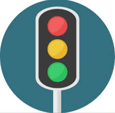 why do traffic lights yellow and green color why don t