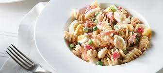 Pasta Salad Recipe Mayo by Classic Creamy Pasta Vegetable Salad Recipe Dairy Goodness
