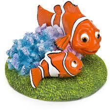 penn plax finding nemo and gil 3 in aquarium ornament hayneedle