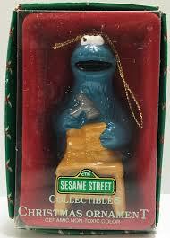 tas032174 sesame street collectibles christmas ornament