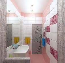 bathroom design bathroom decoration ideas from pink and white
