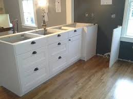 ikea kitchen sink cabinet installation ikea akurum cabinets installation custom assembly and