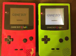 Gameboy Color Game Boy Color Frontscreen Mod by Gameboy Color