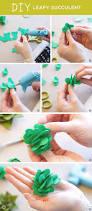 a fresh felt succulent wreath tutorial think make share