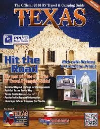 2016 texas rv travel u0026 camping guide by ags texas advertising issuu