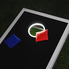 gosports bean bag toss game set superior aluminum frame