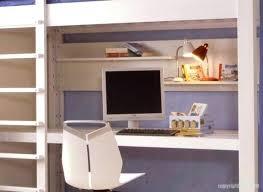 bureau sous lit mezzanine lit mezzanine blanc avec bureau lit mezzanine 1 place fly lit