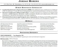 human resource resume sle resume human resources human resources professional sle
