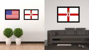 home decor ireland north irish ulster city northern ireland country flag home decor