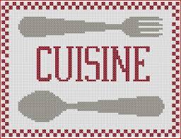 point de croix cuisine capture cuisine grilles point de croix grille point
