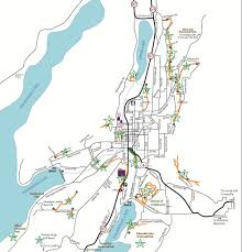 Map Of Bc Trails U0026 Maps Of Vernon Area Ribbons Of Green Trails Society