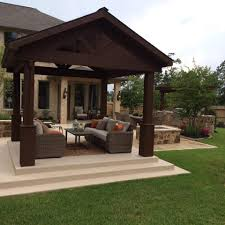 Patio Covers Patio Covers And Pergolas In The Woodlands Hortus Landscape Design
